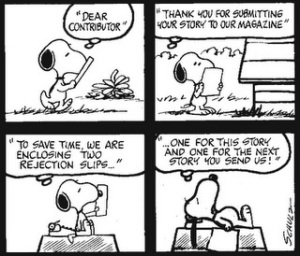 Snoopy 2 rejections at once