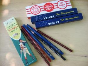 Bygone pencils