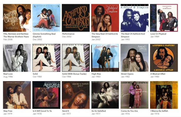 Ashford and Simpson discography