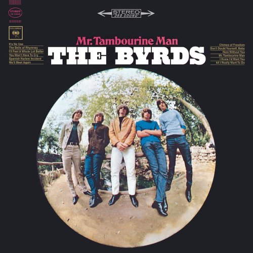 The Byrds Gene Clark far right